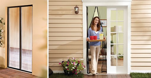 Houd deze zomer de insecten buiten de deur met de magnetische hor. De hor zorgt ervoor dat je gemakkelijk ongewenste insecten buiten de deur van je huis, caravan of camper houdt.     De hor is gemakkelijk te bevestigen, zonder te hoeven boren of schroeven met de bijgeleverde plakstrips. Hij opent en sluit automatisch door middel van 18 praktische magneetsluitingen in het midden van de hor. Je hoeft je dienblad dus niet neer te zetten als je naar buiten loopt! Heel handig!