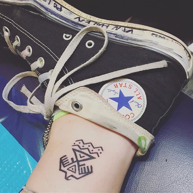 "Paris Jackson got a tattoo in support of the ""Standing Rock Water Protectors""."