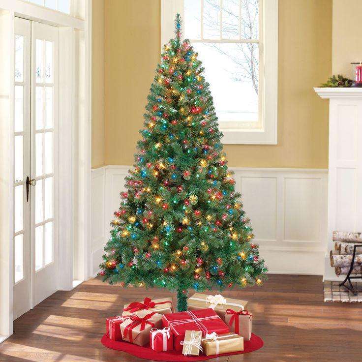 Artificial Christmas Tree Pre Lit 65u0027 Madison Pine