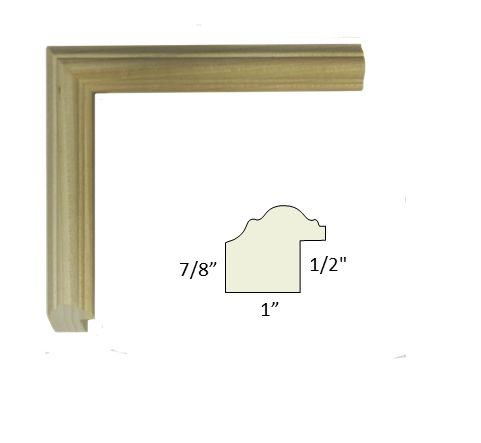 Unfinished Picture Frame Moulding - Buy online - poplar, basswood, raw molding