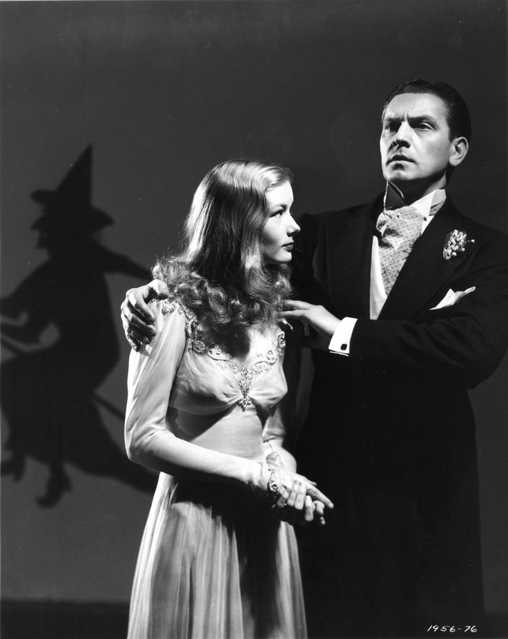 I Married a Witch. Veronica Lake. Fredric March