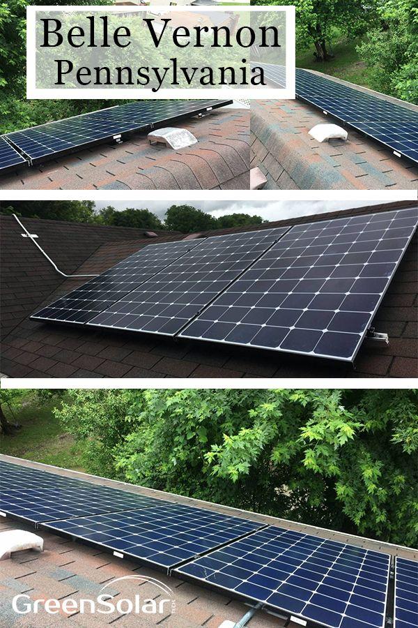 Solar Electric System In Belle Vernon Pa Solar Solar Electric System Solar Electric