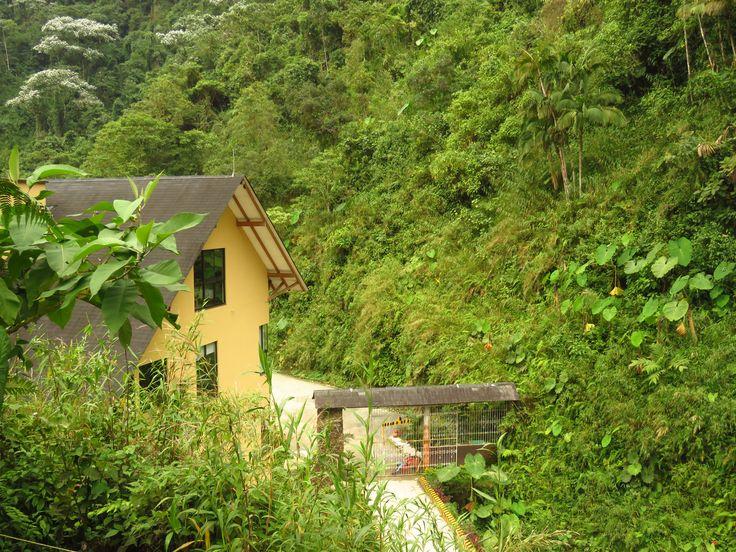 """Moderno alojamiento para parejas en medio de las montañas en nuestro edificio """"La Cabaña"""" Termales Santa Rosa de Cabal"""