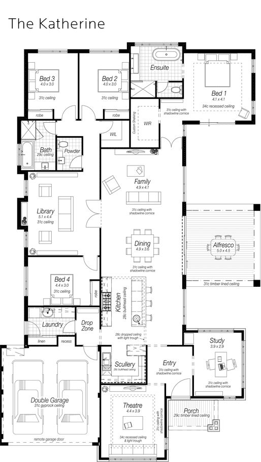 724 best images about homes 4 bedrooms on pinterest for Ross north home designs