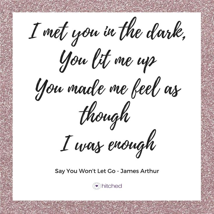 We didn't think we'd see the day James Arthur was storming the charts again after 'Impossible', but 'Say You Won't Let Go' was an irresistible hit, telling a love story we're sure everyone can relate to.