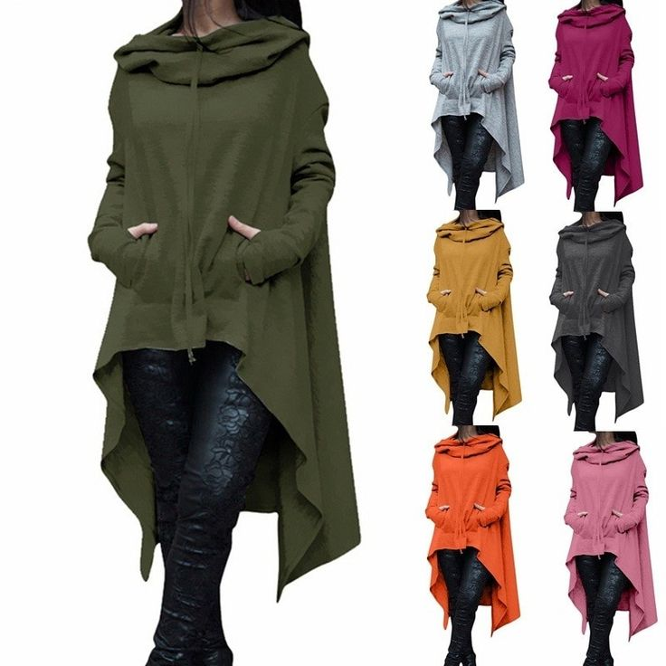 2018 New Fashion Oversize Hoodies Sweatshirt Women Loose Hoody Mantle Hooded Pullover Outwear Coat Vestidos Sudaderas Mujer Size S Color Black