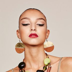 Orecchini etnici disco, Orecchini disco in pelle, grandi orecchini africani, gioielli africani, boho orecchini, Orecchini disco boho, orecchini tribali del disco
