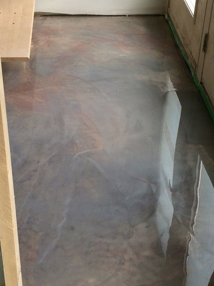 Dolphin metallic epoxy floor