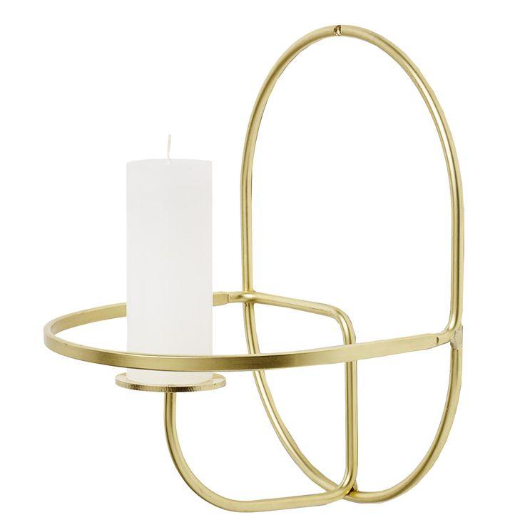 Lup Round vegglysestake fra HAY. En lysestake som både er en flott dekorasjon i hjemmet og som ...