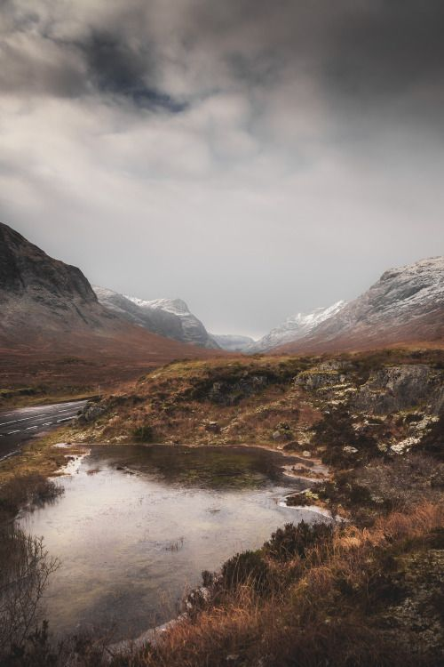 frederickardley:  Cold Mountain Air -Glen Coe Scotland Limited...
