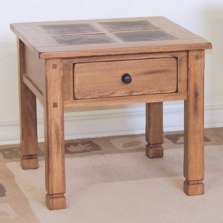 Sedona End Table W/ Slate Top By Sunny Designs At Old Brick Furniture