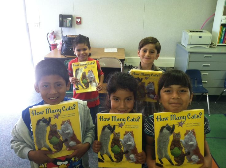 A group of readers from Dr. Jonas Salk Elementary
