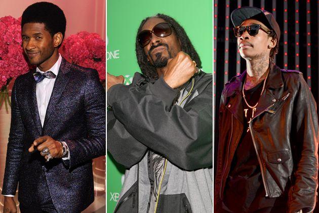 Usher Snoop Dogg Wiz Khalifa