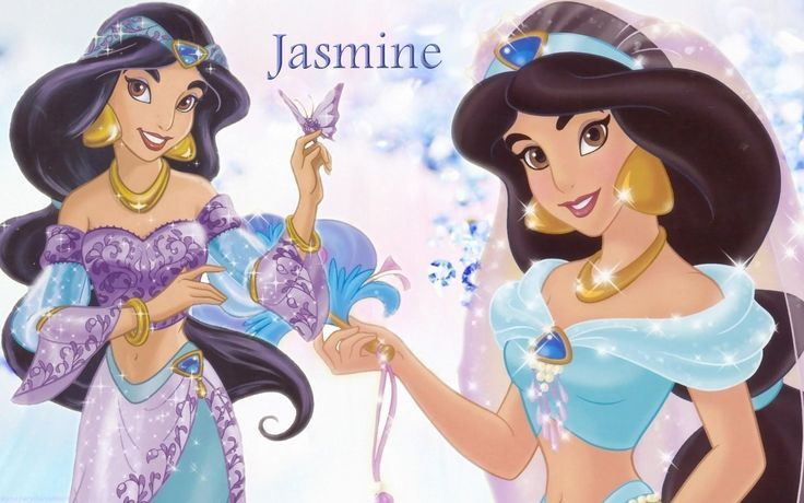 Princezná Jasmina s rozprávky Aladin