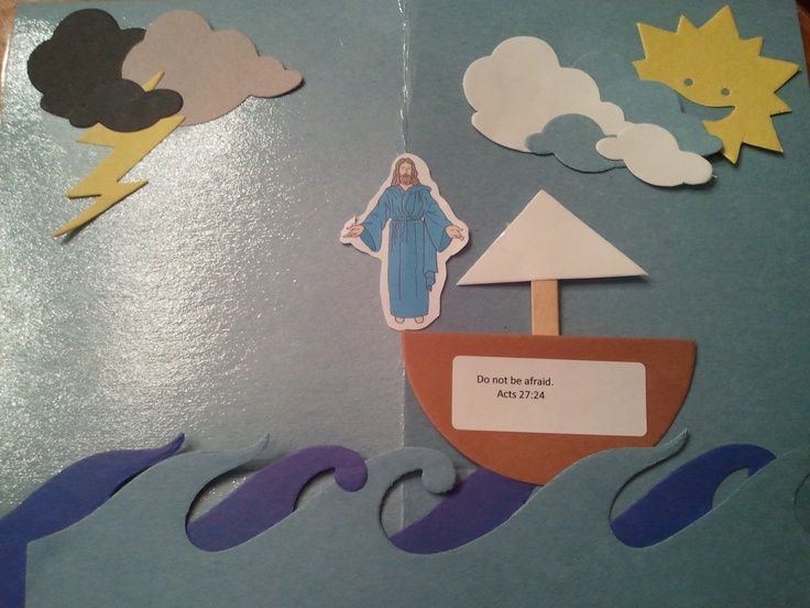 30 best jesus calms the storms crafts images on Pinterest - fresh colouring pictures jesus calms the storm