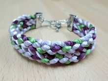 47 best images about Kumihimo - Flat Braid on Pinterest Macrame, The square...