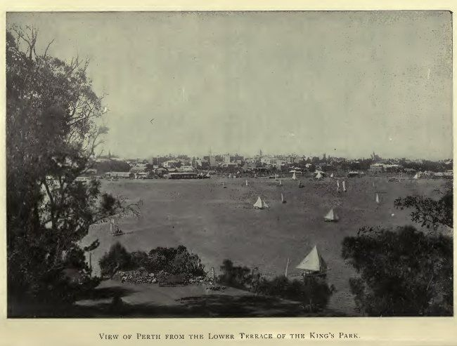 View of Perth from the Lower Terrace of the King's Park