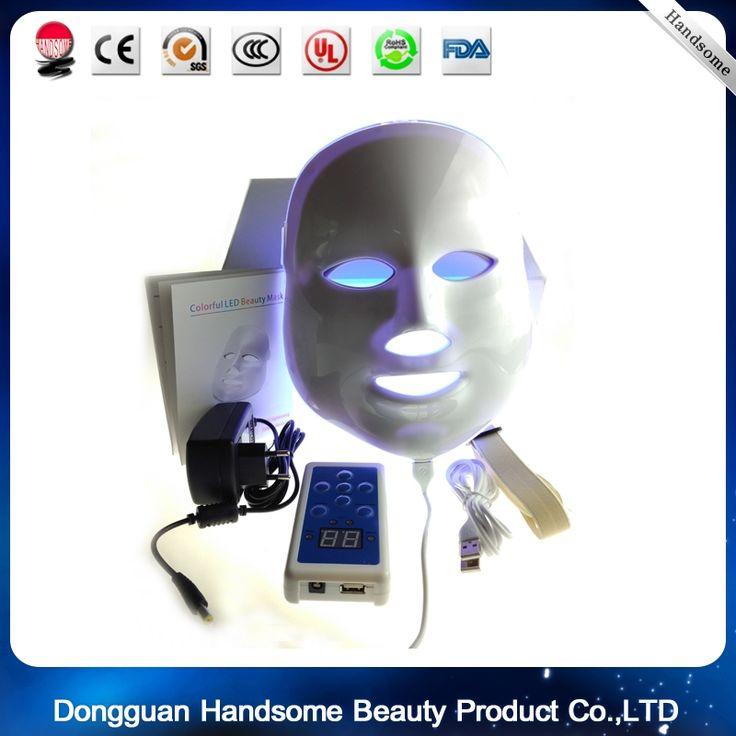 (53.99$)  Watch here  - wholesale beauty supply! Vibration Photon LED Facial Mask/Magic Skin Rejuvenation Led Masks/Led Pdt Bio-light Therapy