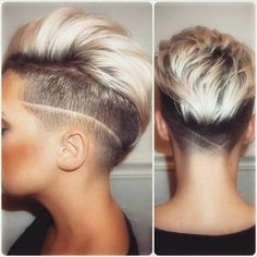 Laat jouw kapper de tondeuse eens gebruiken en ga voor 1 van deze 10 stoere looks! - Kapsels voor haar