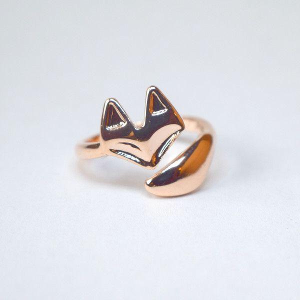 Best fox ring ideas on pinterest simple rings
