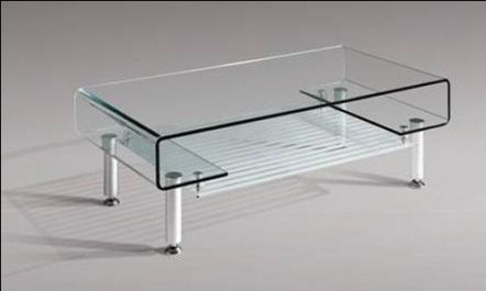 modern design teapoy made of glass simple but stylish @ cn.ecrent
