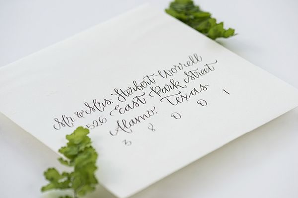 Should Wedding Invitations Be Hand Addressed: 17 Best Ideas About Handwritten Wedding Invitations On
