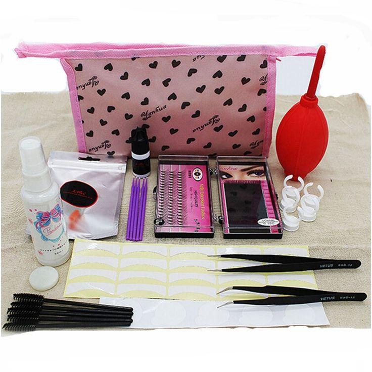 23.94$  Buy now - http://alirkd.shopchina.info/go.php?t=32807070600 -  Eyelashes Extension Kit for Starter False EyeLash  Grafting Eyelash Set with Glue Fashionable Eyelashes Extension Eet 23.94$ #SHOPPING