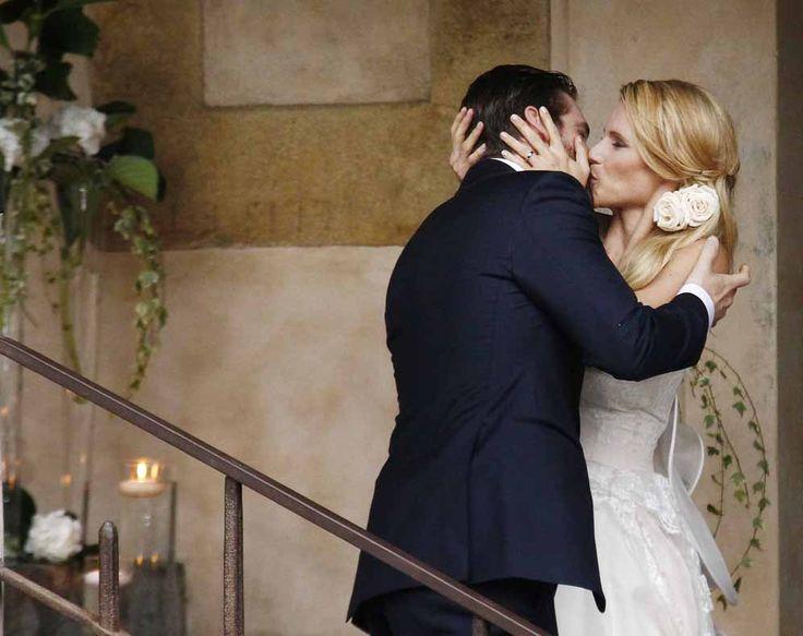 Michelle #Hunziker e Tomaso #Trussardi  [ #matrimonio ]