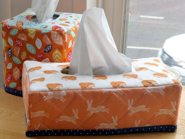 Tissue Box Covers in Issue 17 Quilt Now | by Just Jude Designs