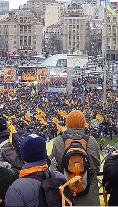 Ukraine's Orange Revolution. 2004.