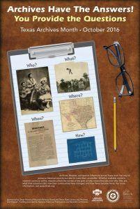 Texas Digital Archive Virtual Scavenger Hunt - Just an idea