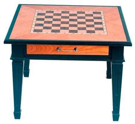 Arsstar Шахматный стол 'классический' (натуральное дерево - ясень, шпон черешня) 65х65х51 см  — 2990 руб.  —  Техническая информация: