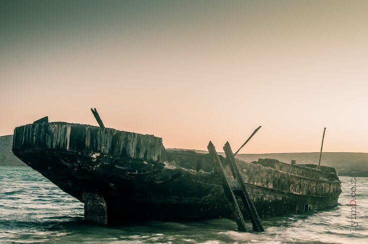 Shipwreck at Yacht club