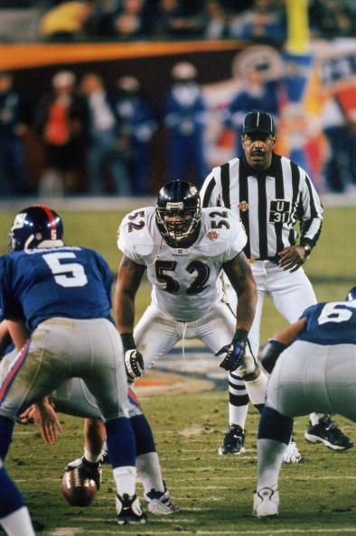 Ray Lewis In Super Bowl XXXV