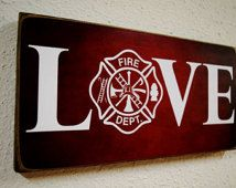 Firefighter Gift, Fireman Gift, Firefighter Decor, Fireman Decor ...