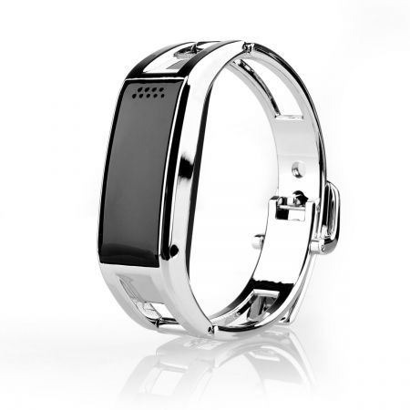Silver Bluetooth Sync Smart Watch Phone Bracelet For IOS Android Samsung iPhone