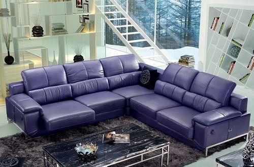 Mẫu sofa da thật cao cấp