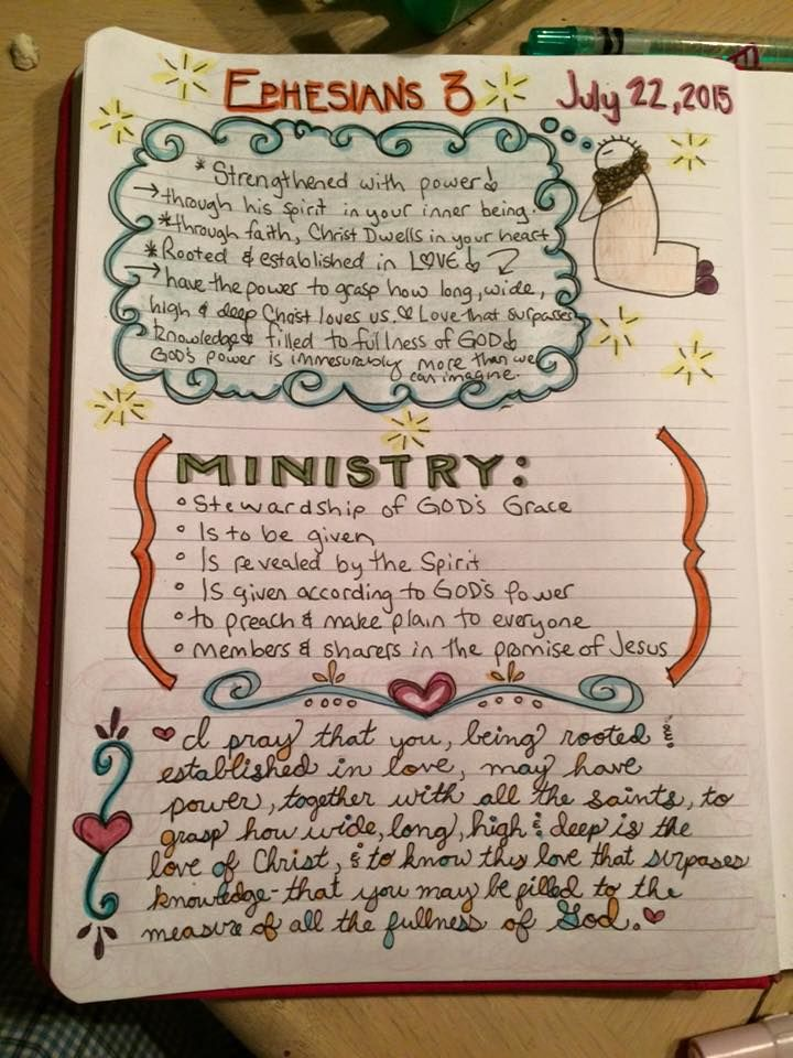 Bible Study Meets Crafting: The Bible Journaling Craze ...