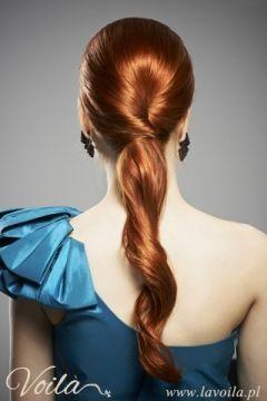 Voila!! fryzura wieczorowa od Voila :)