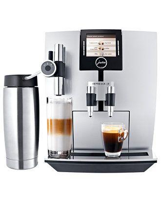 Jura 13592 Espresso Maker, J9 One Touch - Espresso Makers - Kitchen - Macy's