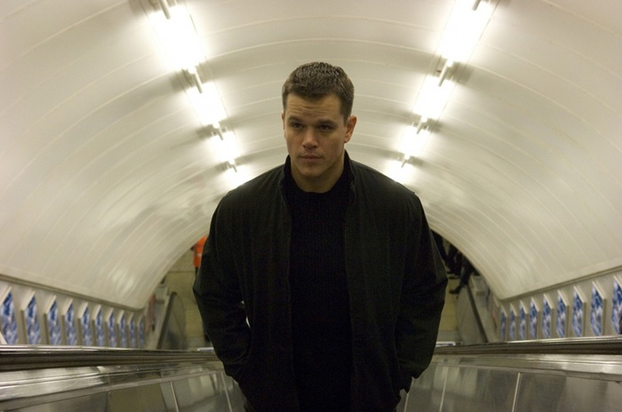 Matt Damon (actor as Jason Bourne in The Bourne Identity, The Bourne Supremacy, and The Bourne Ultimatum)
