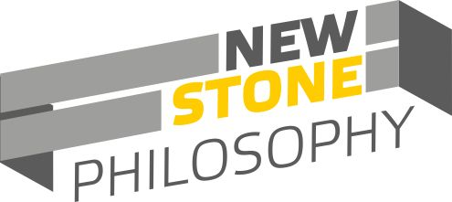 New stone philosophy logo