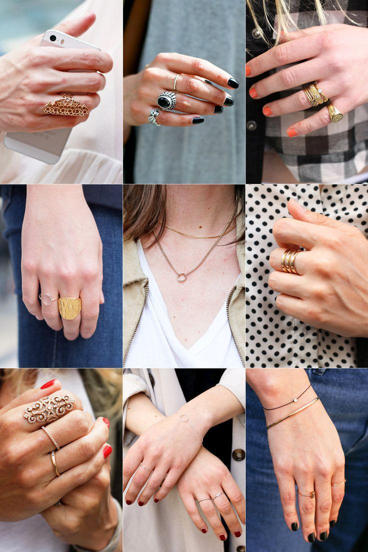 【ELLE】ゴールド&シルバー&ブラックが最愛カラー|パリジェンヌが守る、6つのアクセサリールール|エル・オンライン