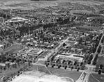 Barton and Kingston, aerial view from Blackall Street looking southeast to Griffith, November 1953