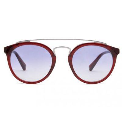 Occhiali da sole, acetato e acciaio, lenti tonde, Bukowski - GIGI Barcelona 147 Euro - Spese di Spedizione Incluse