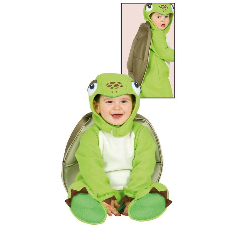 Disfraz de Tortuga Bebé #disfraces #carnaval #novedades2016