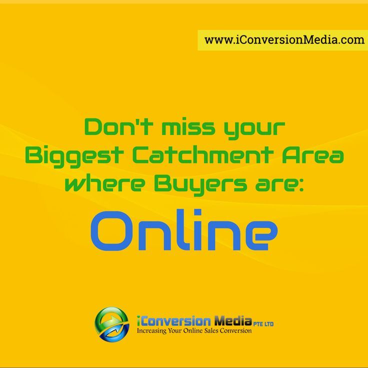 Don't miss your Biggest Catchment Area where Buyers are: Online - iConversion Media    #onlinemarketing… http://itz-my.com