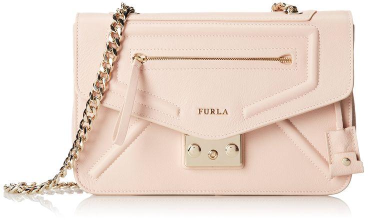 Furla Alice Small Cross Body Bag, Magnolia, One Size: Handbags: Amazon.com