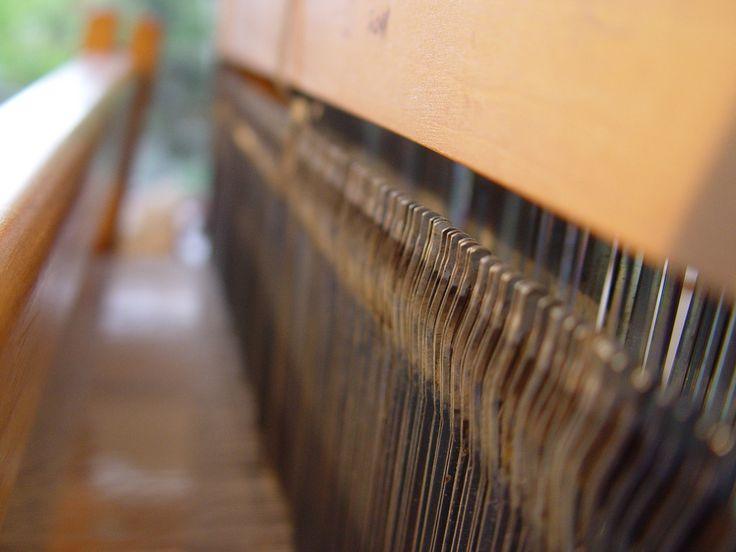Weaving loom details #ILLANGO #weaving