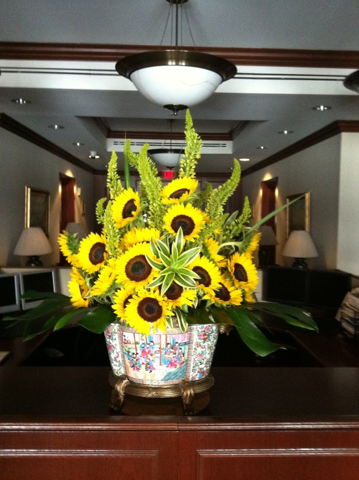 Sunflowers designed to WOW